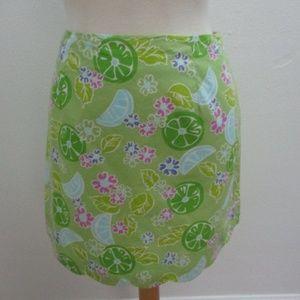 Lily Pulitzer Women's Mini Skirt Green 4